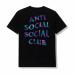 Anti Social Social Club ASSC Kiss The Wall Tee Black