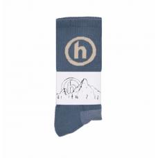 Hidden NY Socks Ocean Blue