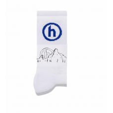 Hidden NY Crew Socks White/Blue