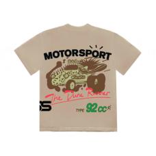 Travis Scott Cactus Jack Motor Sport Tee Tan
