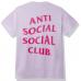 Anti Social Social Club S&D By ASSC Tee Lavender