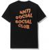 Anti Social Social Club Maniac Tee Black