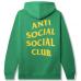 Anti Social Social Club S&D By ASSC Hoodie Green