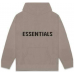 FEAR OF GOD ESSENTIALS Knit Hoodie Taupe