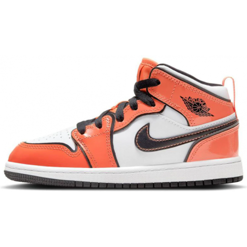 Jordan 1 Mid Turf Orange (PS)