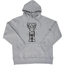 KAWS Holiday UK Hoodie Grey