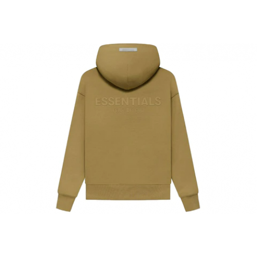 Fear of God Essentials Kids Pullover Hoodie Amber