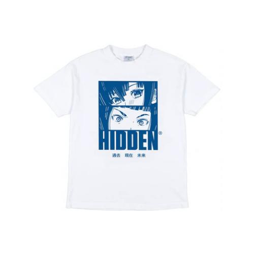 Hidden NY Anime Tee White/Blue