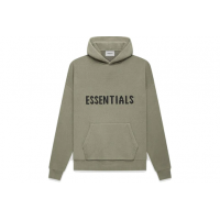 Fear of God Essentials Knit Pullover Hoodie Pistachio