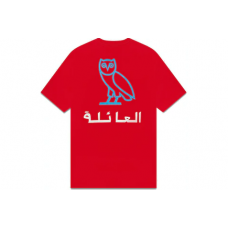 OVO Family Pocket T-shirt Red