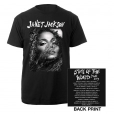 Janet Jackson State of the World Tour 2017 Tee