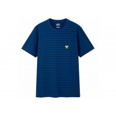 KAWS X Uniqlo BFF Blue Stripe
