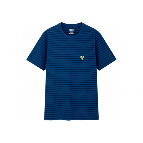 KAWS X Uniqlo BFF Blue Stripe