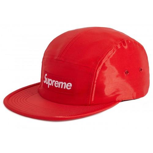 Supreme Liquid Silk Camp Red Cap FW18