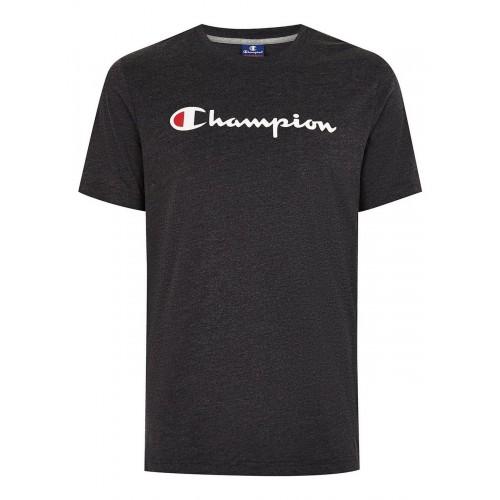 Champion Classic Mid Logo Tee Black