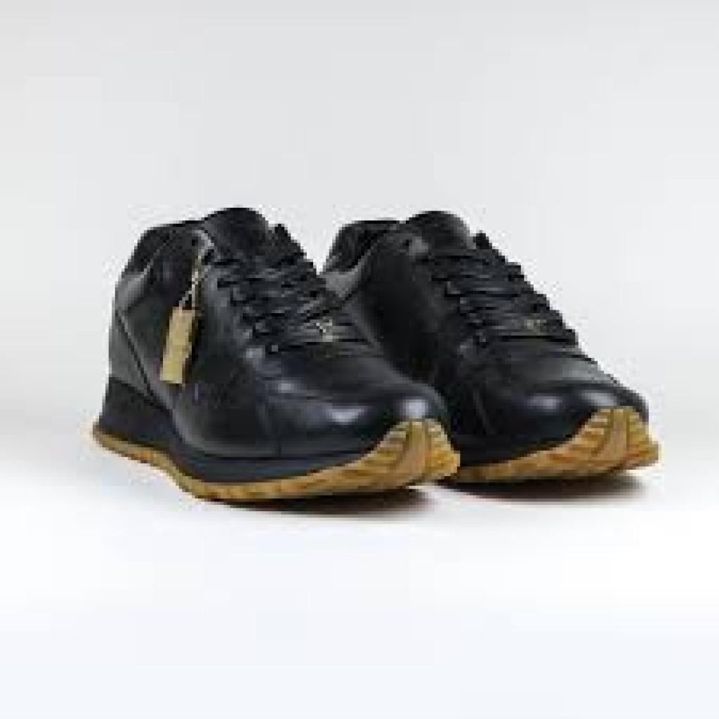 ef5882e59a5 LOUIS VUITTON X SUPREME Runaway Shoes Black by Youbetterfly