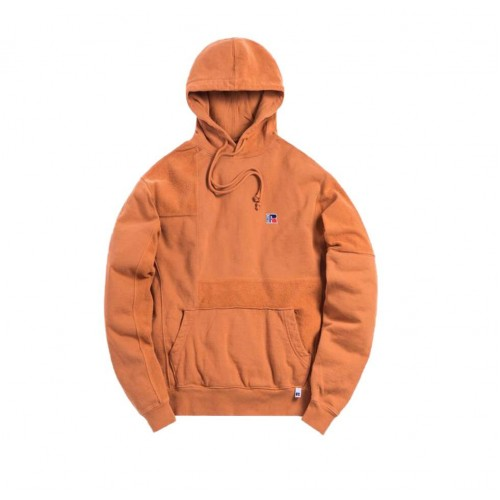 Kith Russel Athletic Hoodie Brown