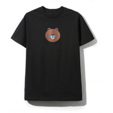 ASSC Line Friends Black Tee