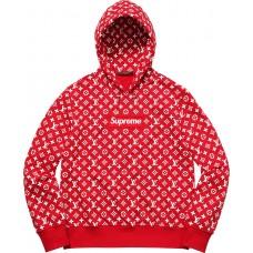 Louis Vuitton x Supreme Box Logo Hooded Sweatshirt