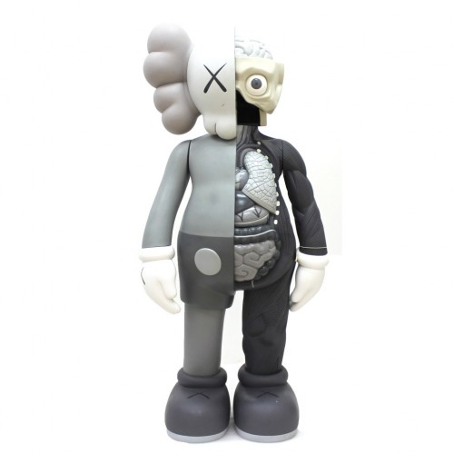 Kaws Dissected Grey Companion