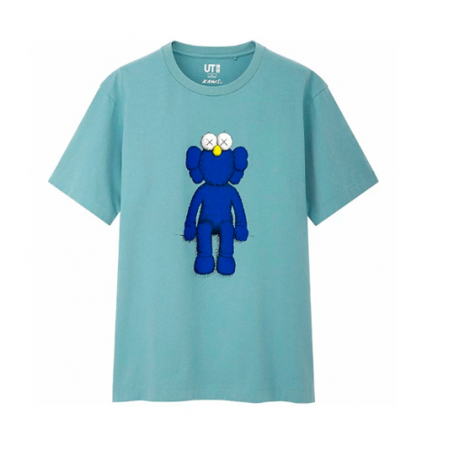 KAWS x Uniqlo UT Blue Companion BFF Collaboration SS19