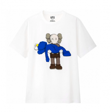 KAWS X Uniqlo Carrying Blue Companion SS19