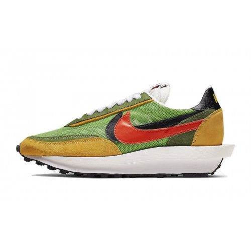 Sacai x Nike LDV Waffle Daybreak Green