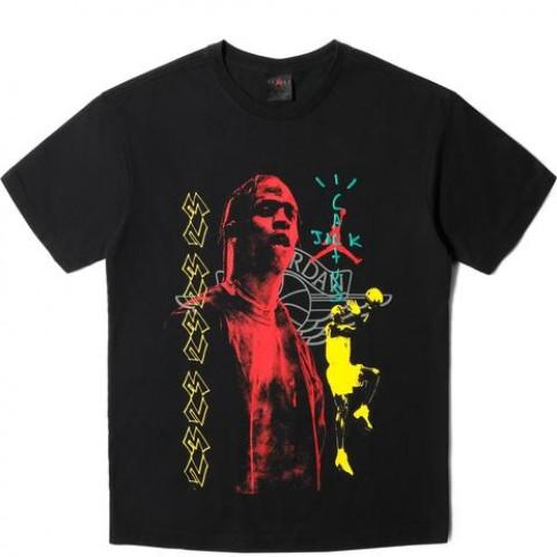 Travis x Jordan Shirt Cactus Jack MJ
