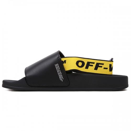 Off-white Strap Slides