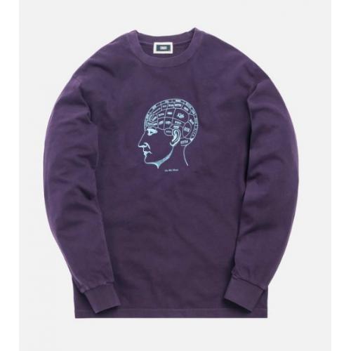Kith On My Mind LS Purple Tee