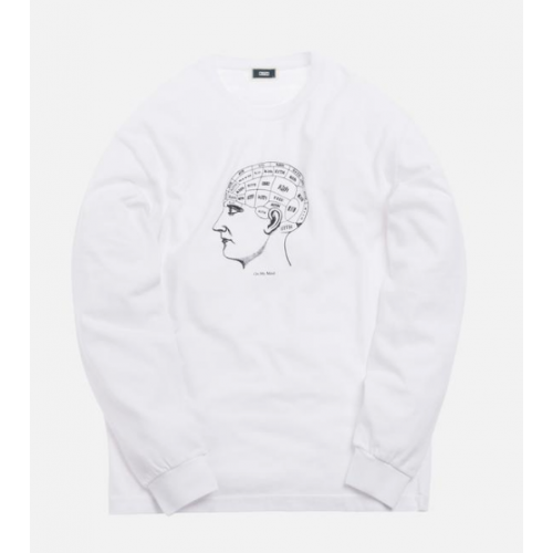 Kith On My Mind LS White Tee