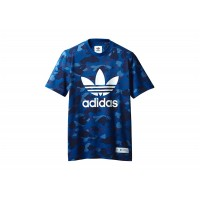 Adidas X Bape Blue T