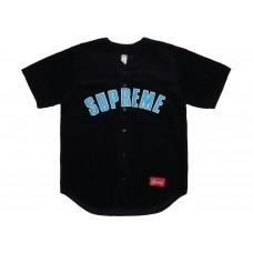 Supreme Conduroy Baseball Jersey