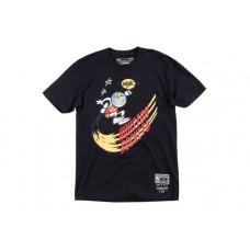 Travis Scott x BR x Mitchell & Ness Rockets Tee Black