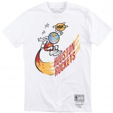 Travis Scott x BR x Mitchell & Ness Rockets Tee White