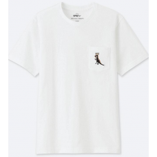 Uniqlo X JMB White Tee