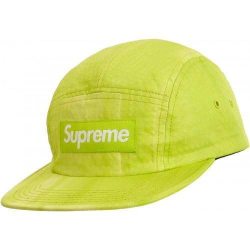 Supreme Tie Dye Ripstop Camp Cap Lime