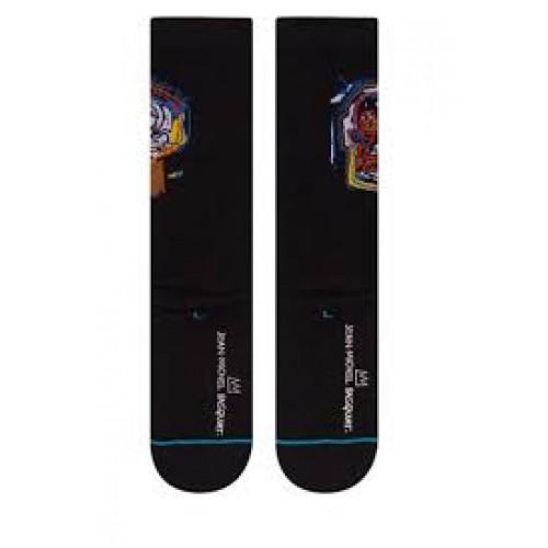 Stance Socks X Jean-Michel Basquiat Black