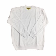 Golf Mini Logo Crewneck White
