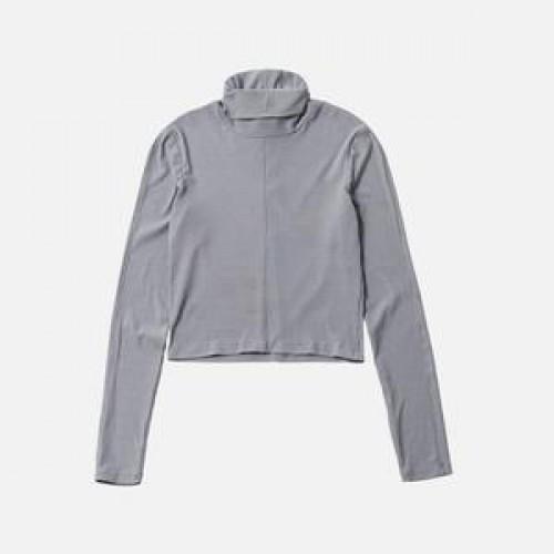 Kith Women Brynn L/S Turtleneck Light Grey