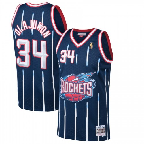 new product 70a9c 12fd9 Houston Rockets Hakeem Olajuwon Jersey by Youbetterfly