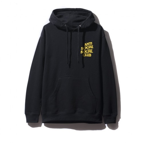 ASSC Yellow Logo Hoodie