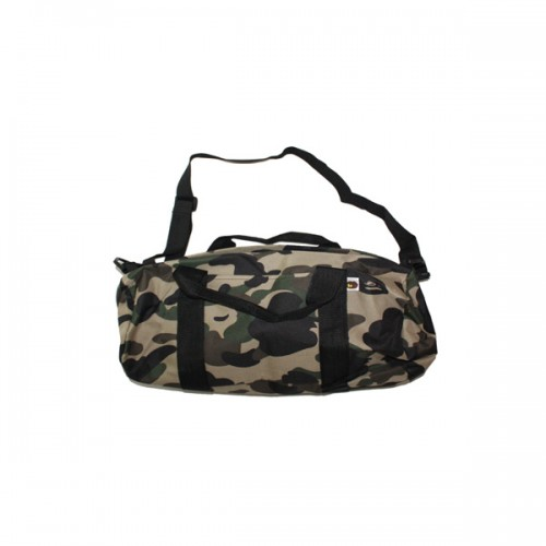 Bape Green Camo Travel Bag