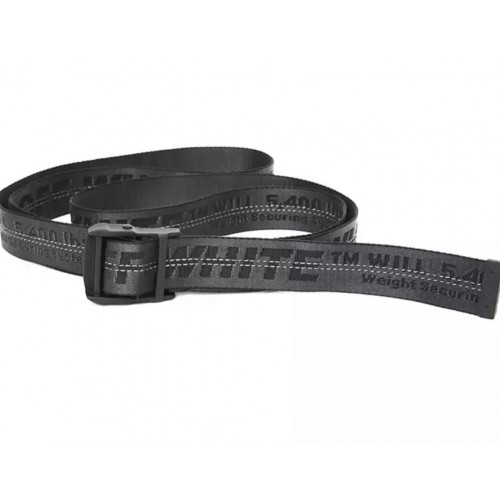 Off-White Black Belt