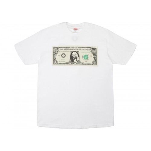 Supreme Dollar T White