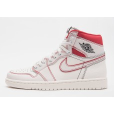 Air Jordan 1 Retro Phantom Sail University Red