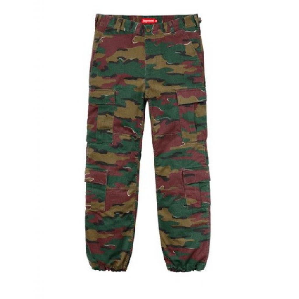 Supreme Cargo Jigsaw Camo Pants by Youbetterfly