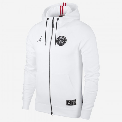 Air Jordan X PSG Full Zipped Hoodie