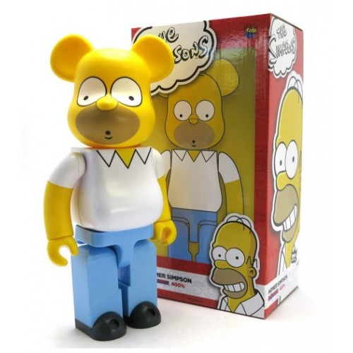 Medicom Toy Be@rBrick X Homer Simpson