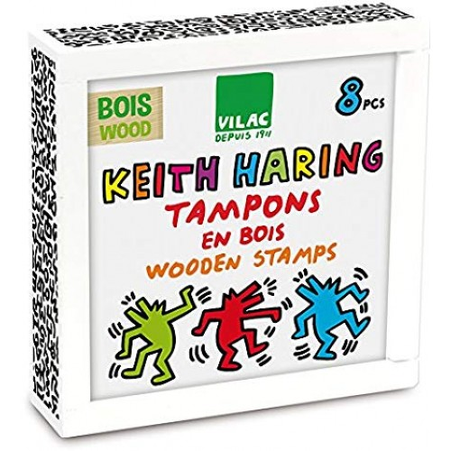 Keith Haring Wooden Stamps